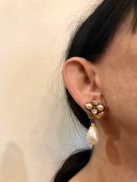 Vintage Coco Chanel Baroque Pearl Diamant Statement ...