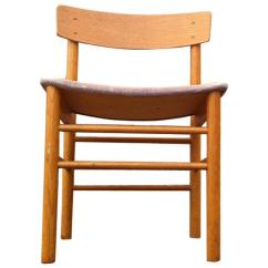 Vintage Oak Dining Chairs Office Chair Back Pain Borge Mogensen Produced By J39 Fdb Mobler Denmark Danish In The Manner Of 1970s