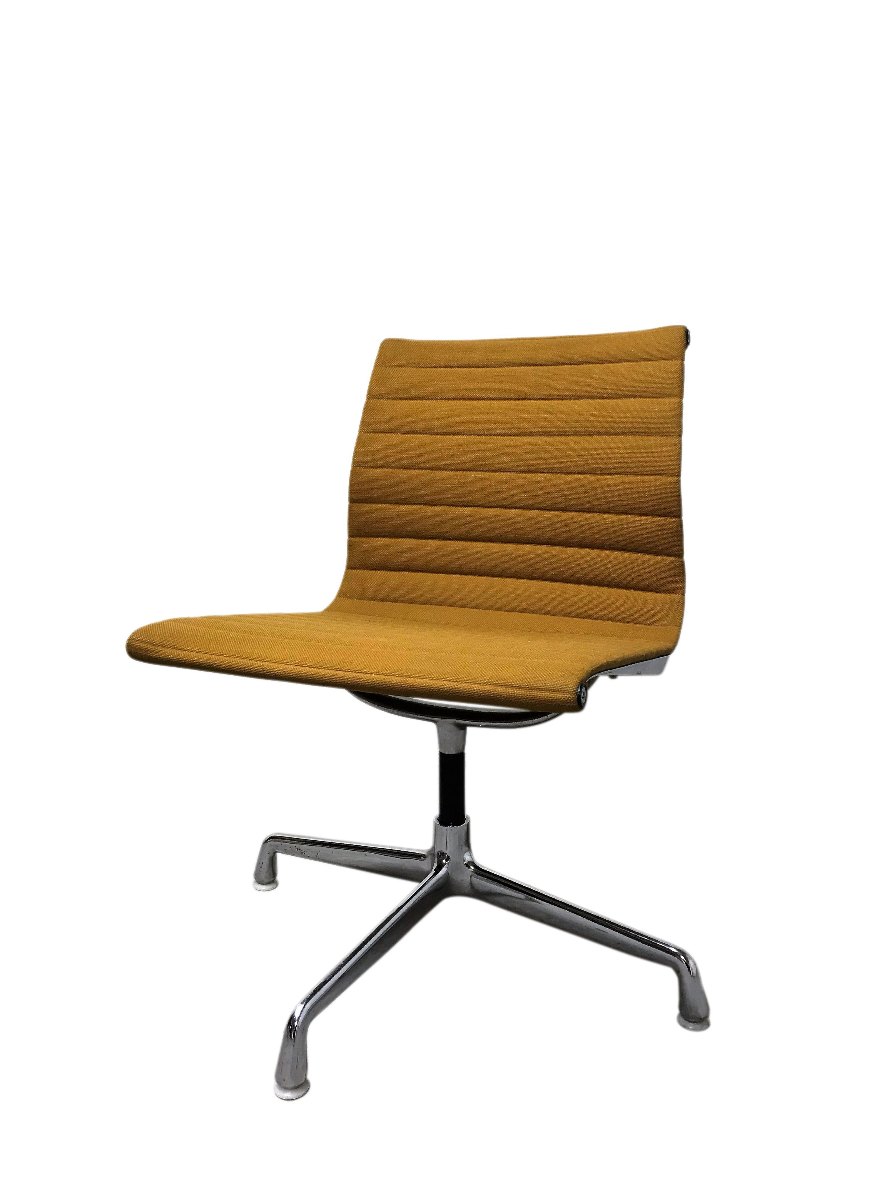 Eames Desk Chair Vintage Eames Desk Chair Ea108 For Herman Miller Yellow 1970s