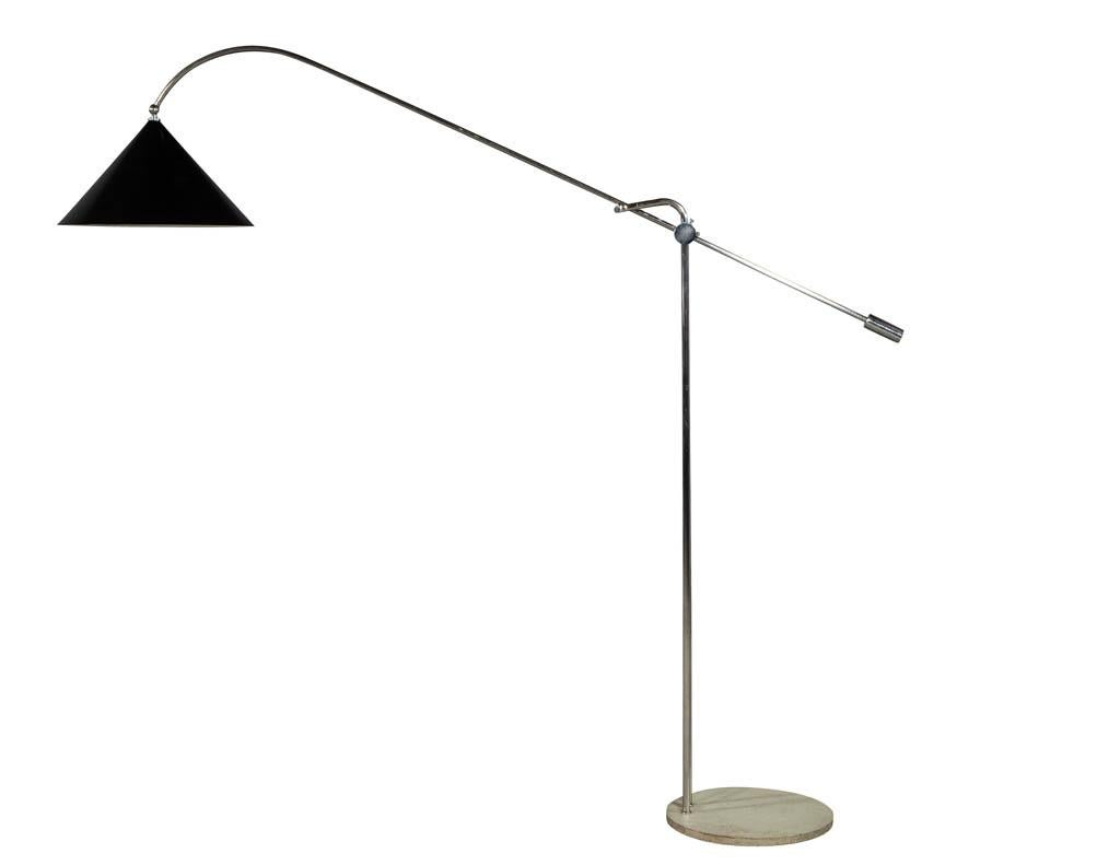 Vintage Mid Century Modern Italian Floor Lamp