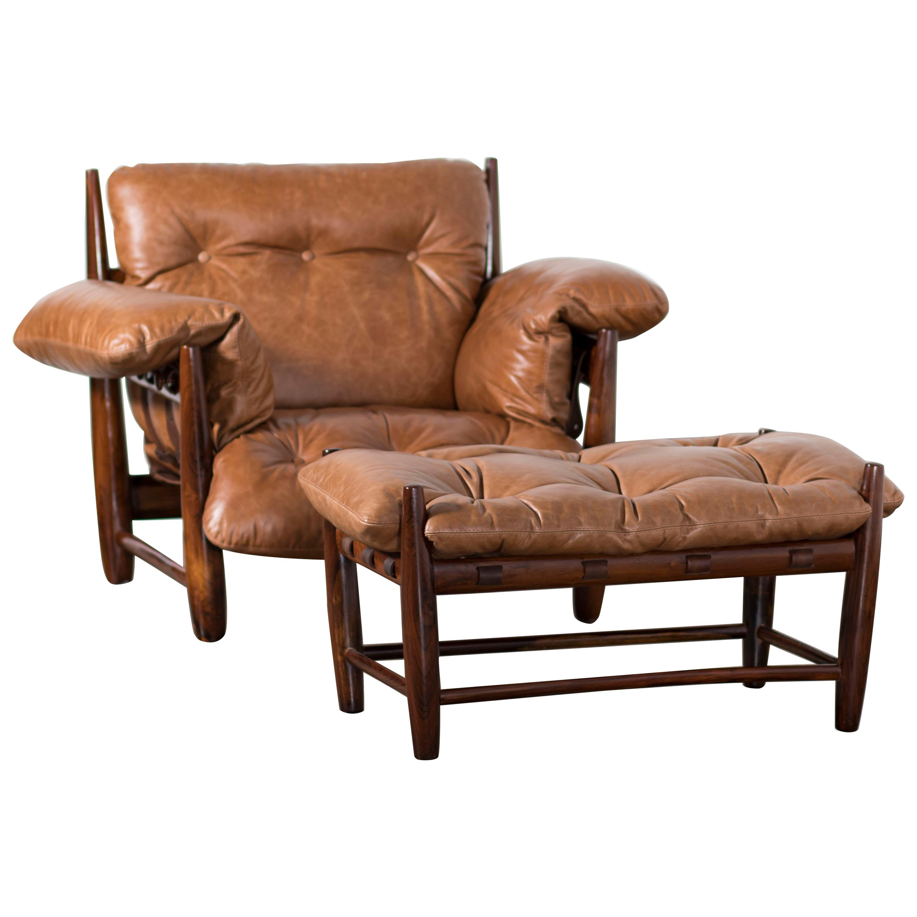 armchair meaning ethan allen hitchcock chairs vintage mole with ottoman by sergio rodrigues for sale at