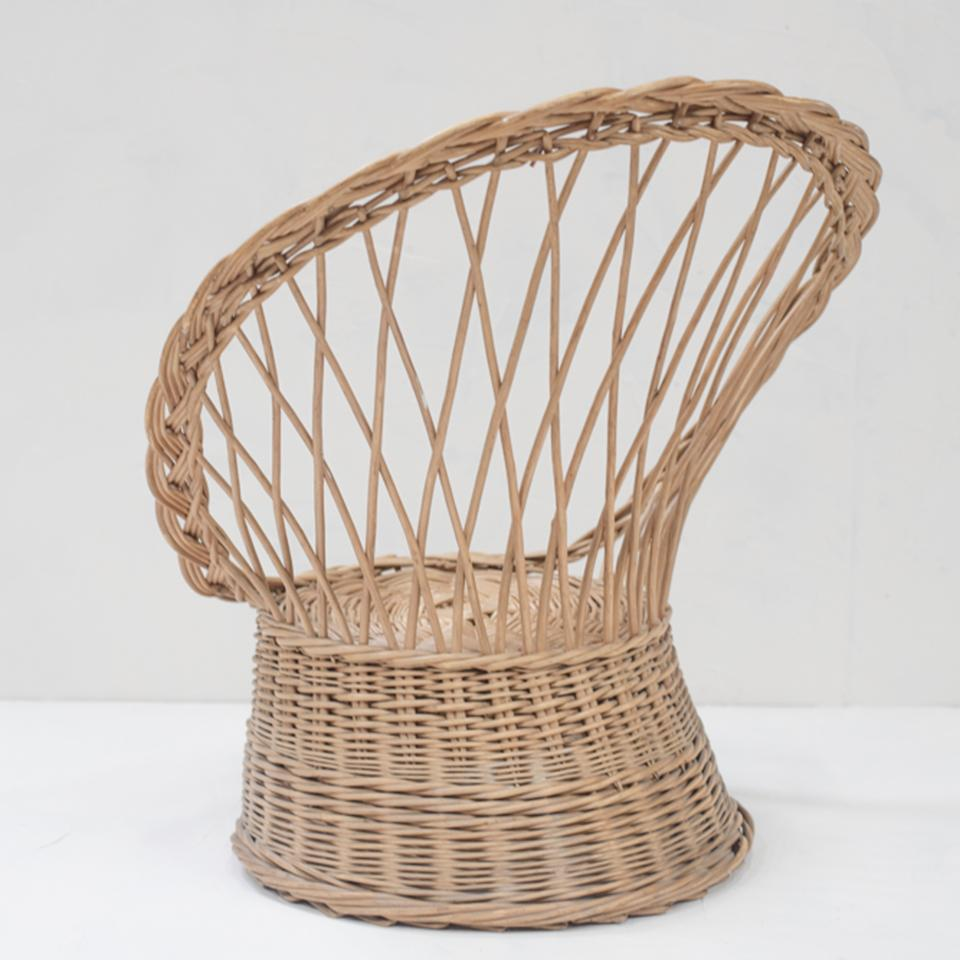Vintage Rattan Chair Vintage Rattan Chair From France