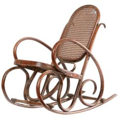 1920s Rocking Chair Leather Office Chairs Canada Vintage Walnut Child S Circa For Sale At 1stdibs
