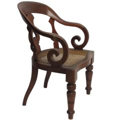 Antique Wood Barber Chair Comfy Reading Chairs Italian Vintage At 1stdibs