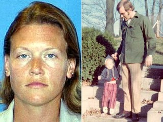 PHOTO Stacey Lannert, left, spent 18 years in prison after being convicted of killing her father, Thomas Lannert, pictured at right with 2-year-old Stacey.