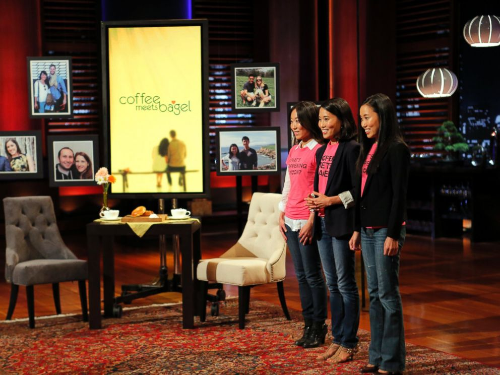PHOTO: From left, Soo, Arum and Dawoon Kang on an episode of Shark Tank.
