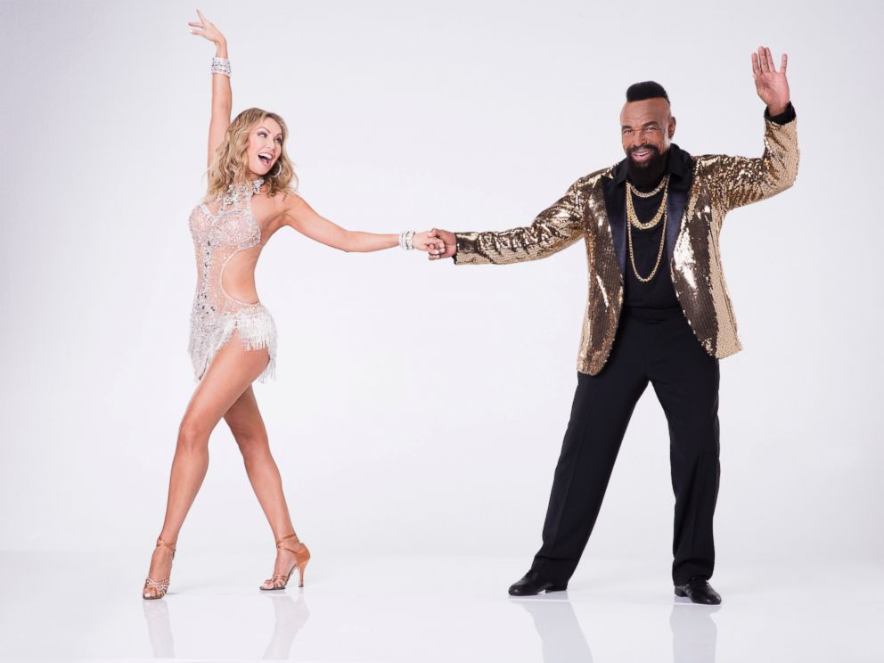 PHOTO: Mr. T, right, will compete with pro Kym Herjavec on the new season of Dancing With the Stars.