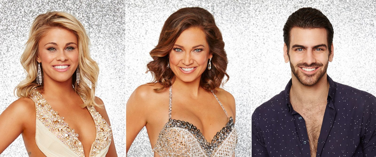 "PHOTO: Paige VanZant, Ginger Zee and Nyle DiMarco advance to the season 22 finals of ABCs ""Dancing With the Stars."""