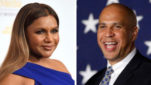 Sen. Cory Booker asks Mindy Kaling out for dinner on Twitter; she says 'yes'