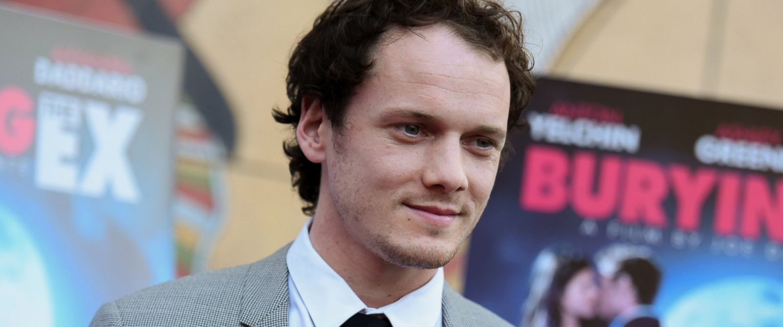 "PHOTO: Anton Yelchin arrives at a special screening of ""Burying the Ex"" held at Graumans Egyptian Theater in Los Angeles, June 11, 2015."
