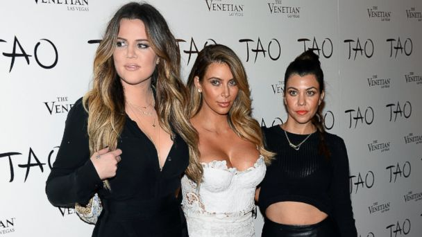 GTY kardashian sisters kab 131223 16x9 608 Kim Kardashian Describes Bond Between North, Penelope, Mason