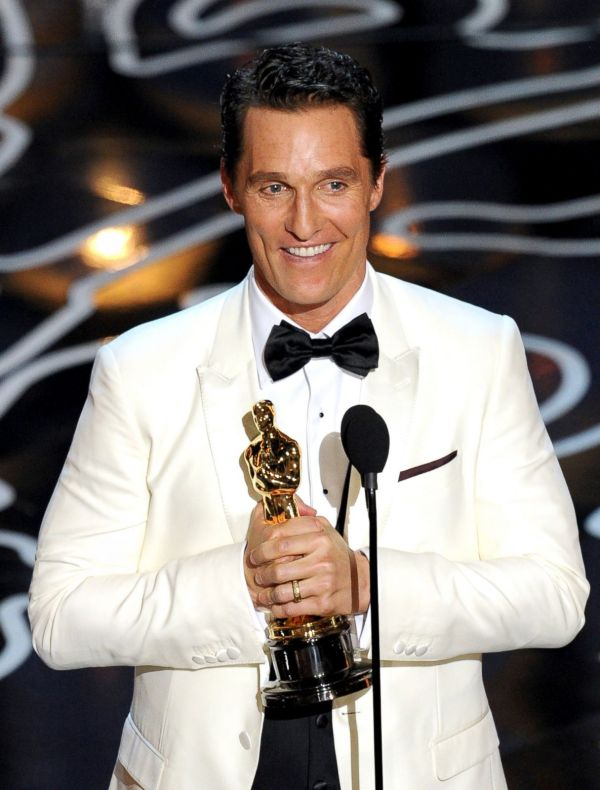 Matthew Mcconaughey Wins Actor Moments Oscars 2014 - Abc