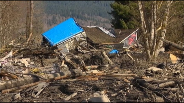 VIDEO: At least 8 have died and 18 are missing after a mudslide in a rural area of Washington State.
