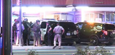 VIDEO: Dramatic Police Chase Concludes in a Crowded BBQ Restaurant