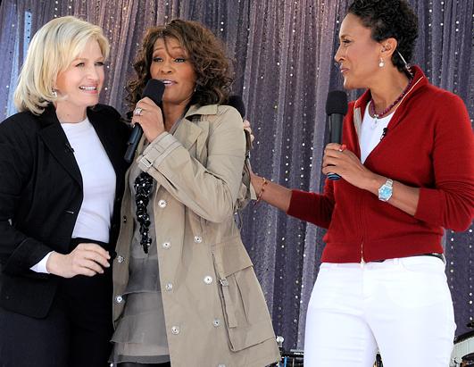 Whitney Houston performs on Good Morning America - September 2, 2009 -- Image courtesy of ABC/GMA