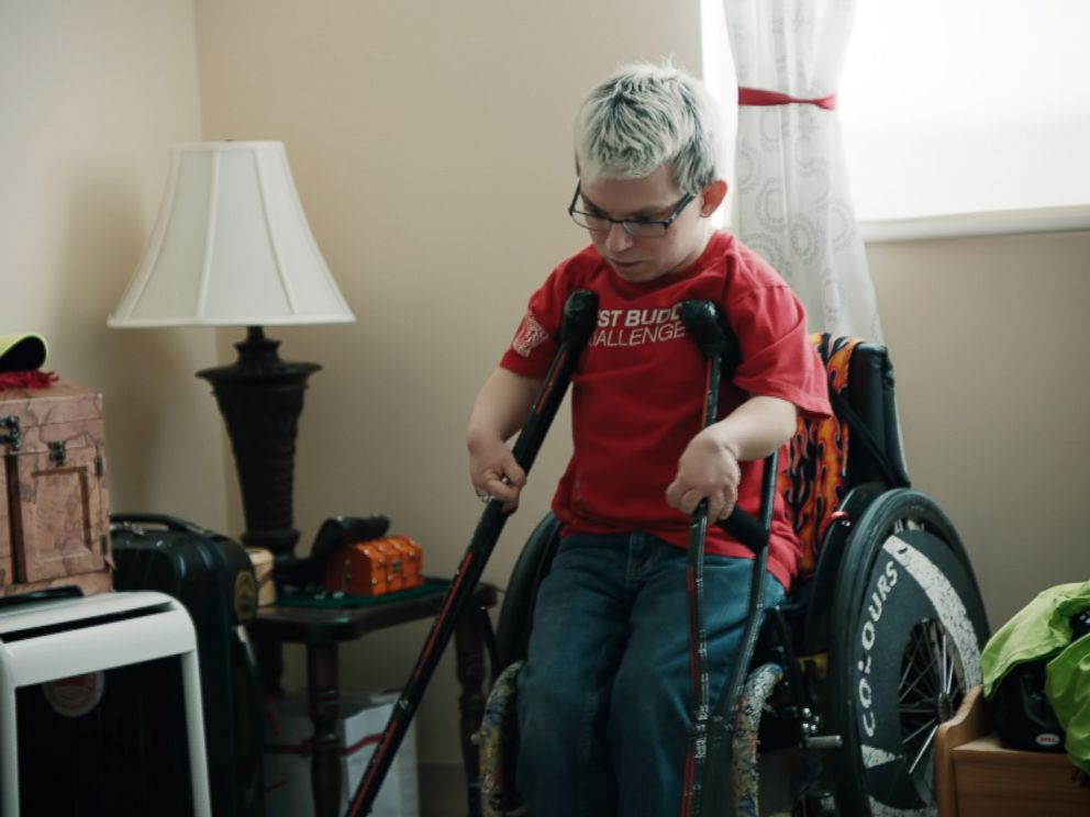 Chernobyl Survivor to Be Pushed in Team Hoyt Wheelchair