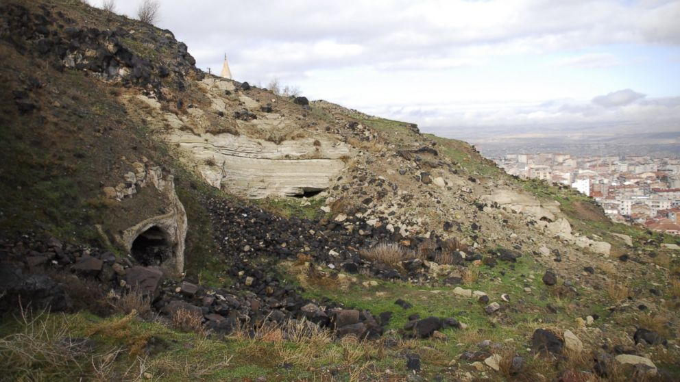 PHOTO: Researchers discovered these ruins from an underground city in Turkeys Central Anatolian region in this Dec. 28, 2014 file photo.