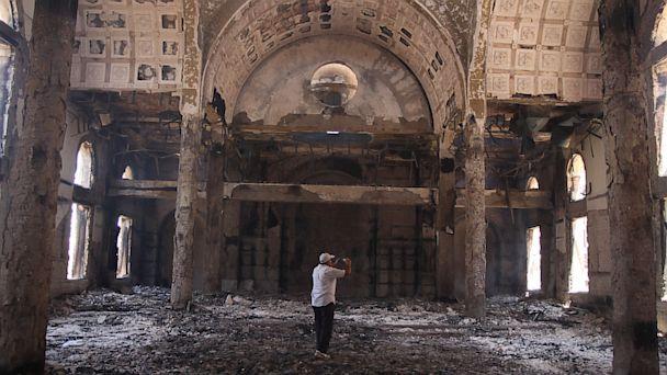 ap egypt church burning lt 130815 16x9 608 Egyptian Protesters Turn Fury on Coptic Christians