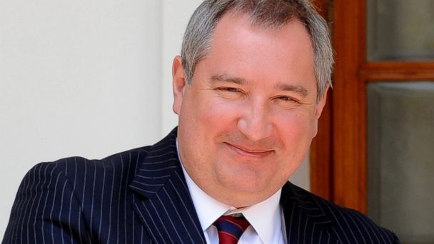 gty dmitry rogozin kb 140317 16x9 608 Russian Deputy PM Laughs at Obamas Sanctions