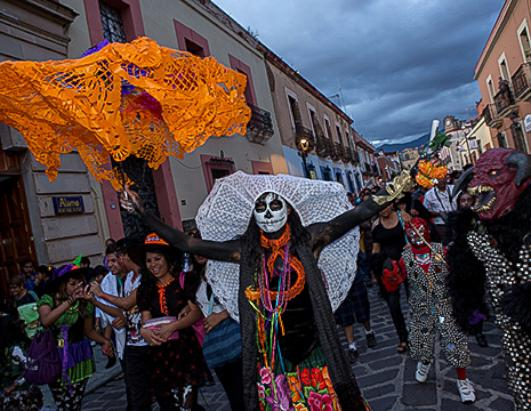 Skeletons, Zombies and Fangs: It's Day of the Dead
