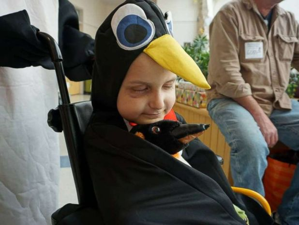 PHOTO: Jacob Thompson, 9, of Maine, is fighting stage 4 neuroblastoma at The Barbara Bush Childrens Hospital at Maine Medical Center in Portland.