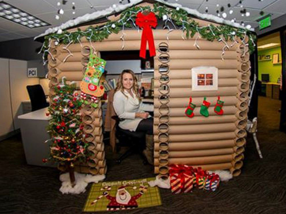 Holiday Cubicle Decorating Contest Ideas Part - 43: 26 Innovative Office Cubicle Christmas Decorating Contest Ideas