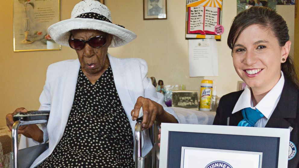 PHOTO: Susannah Mushatt Jones of Brooklyn, New York has been named the oldest living person.