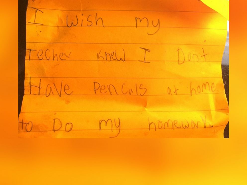 PHOTO: Kyle Schwartz asked her students to tell her what they wish their teacher knew.