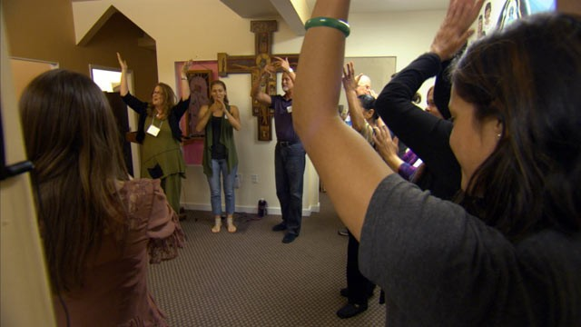 """PHOTO: The Berkeley Psychic Institute in Berkeley, Calif. hosts """"psychic kindergarten"""" classes, or beginner lessons for clairvoyants, where they learn how to read colored spirits, feel chakras and """"blow roses."""""""