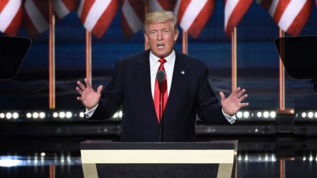 Image result for picture of donald trump on WH podium