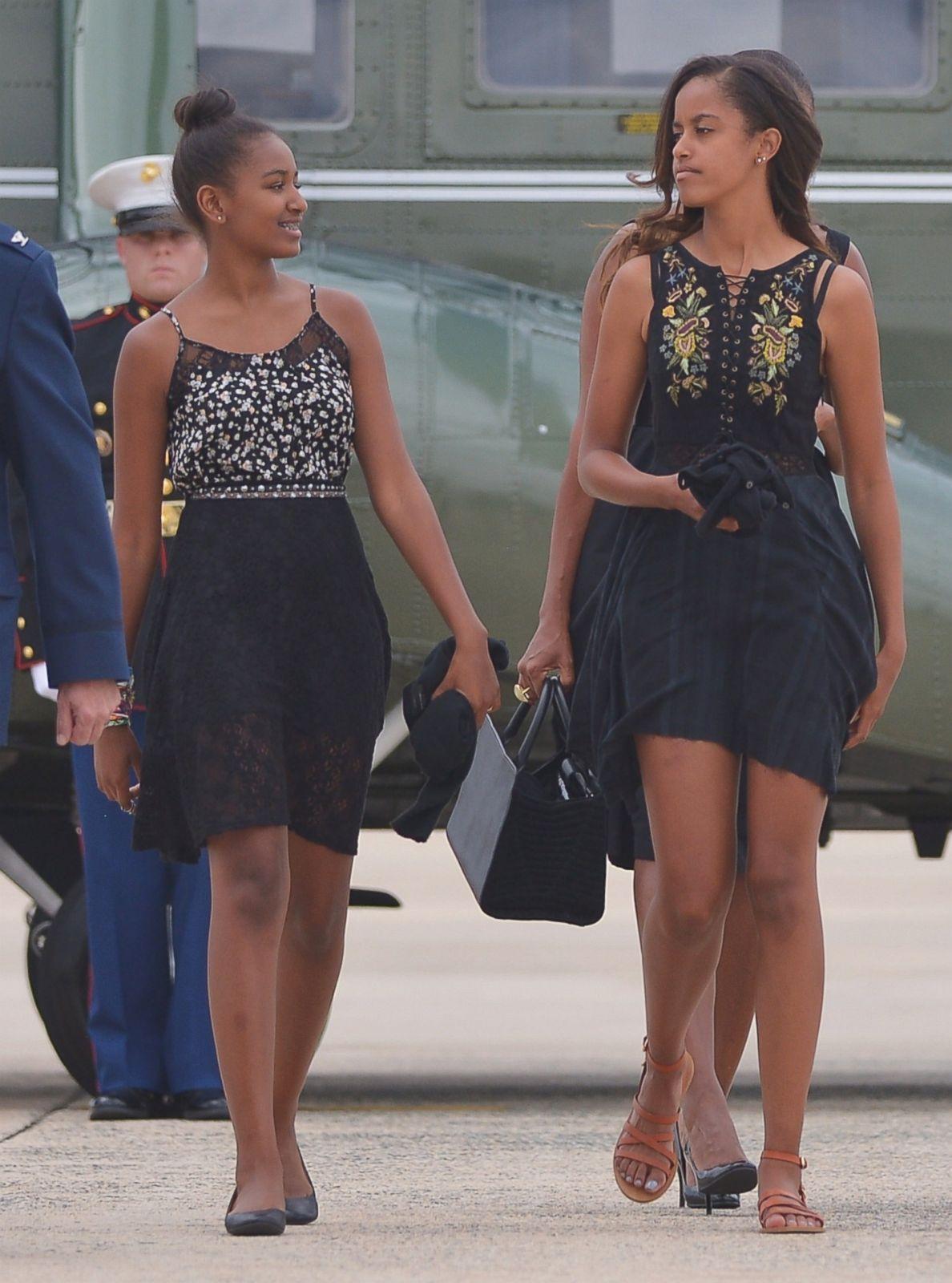 Picture  Malia And Sasha Obama Through The Years  Abc News