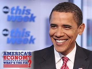 PHOTO Obama on This Week