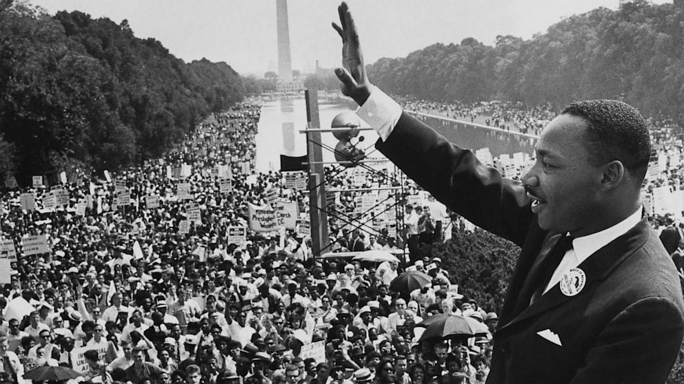 "Image result for photos of MLK delivering I Have a Dream"" speech"