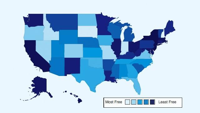 PHOTO:Freedom Map