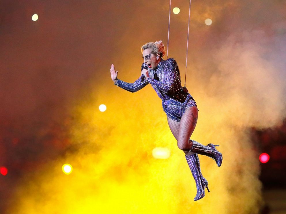 Image result for lady gaga february 2017 super bowl