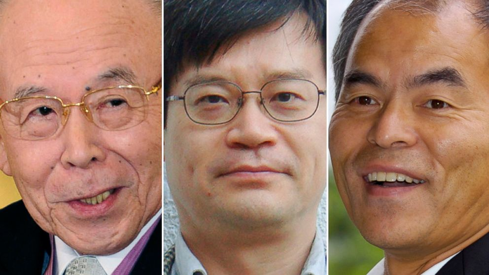 PHOTO: Nobel Prize Winners in Physics