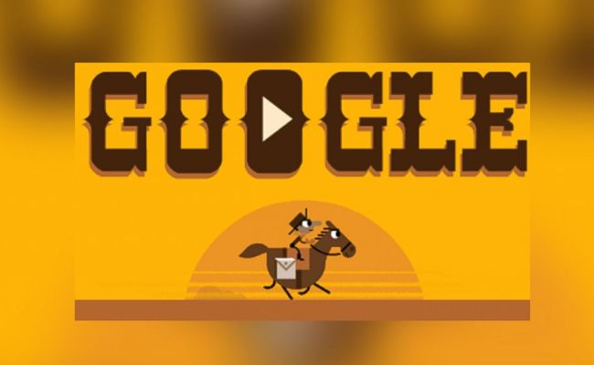 Google Doodle Celebrates 155th Anniversary Of The Pony