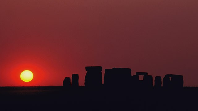 PHOTO: Stonehenge sunset