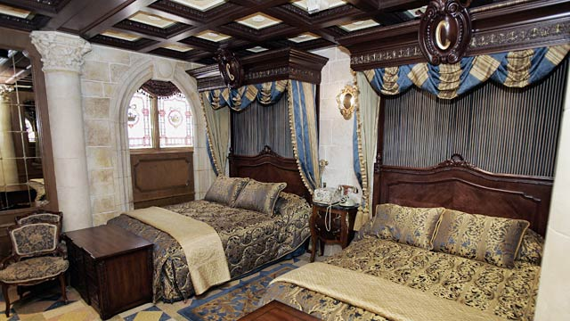 Image result for disney world cinderella's castle apartment