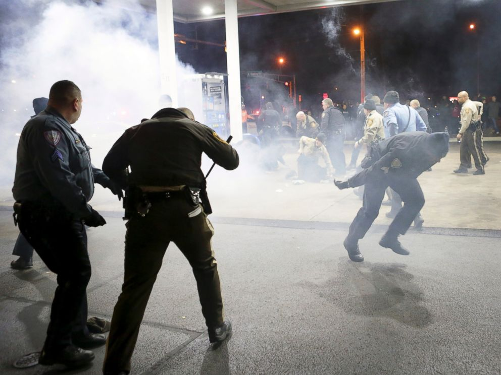 Video Shows Moments Before Police Shooting Near Ferguson
