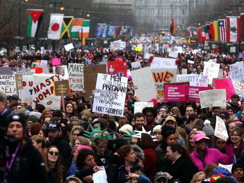 Image result for women marches jan. 21