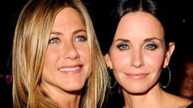 PHOTO: Jennifer Aniston and  Courteney Cox Arquette attend the 2010 Crystal + Lucy Awards: A New Era at Hyatt Regency Century Plaza in Century City, Calif., June 1, 2010.