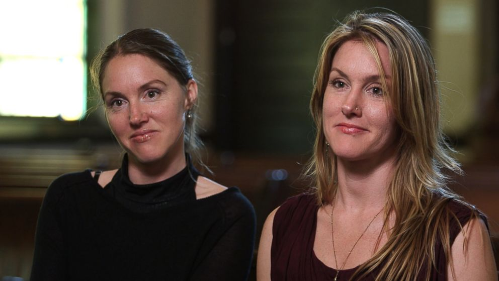 "Twins Flor and Tamar Edwards, both 34, say they were raised in a controversial religious sect called ""The Children of God."""
