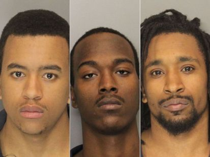 PHOTO: Marietta police arrested Jordan Baker, 18; Jonathon Myles, 19; and Kaylnn Ruthenberg, 21, on Feb. 10, 2015. The three were charged with felony murder, armed robbery and aggravated assault.