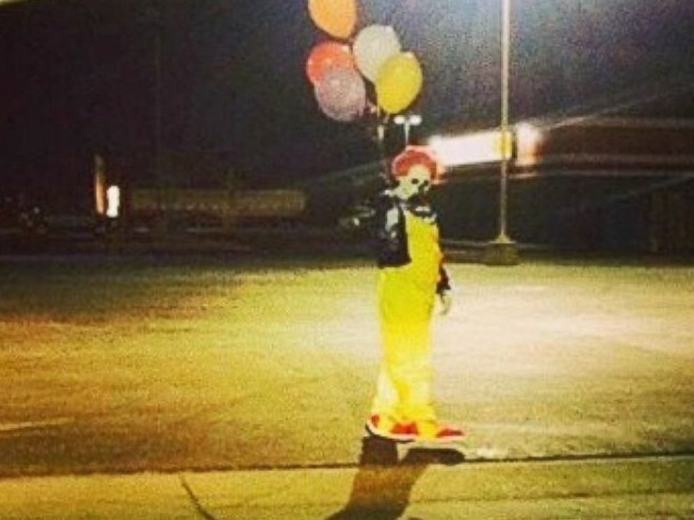 Image result for clown sightings