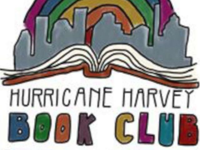 PHOTO: Kathryn Mills, a teacher from Columbus, Texas, started the Hurricane Harvey Book Club on Facebook.