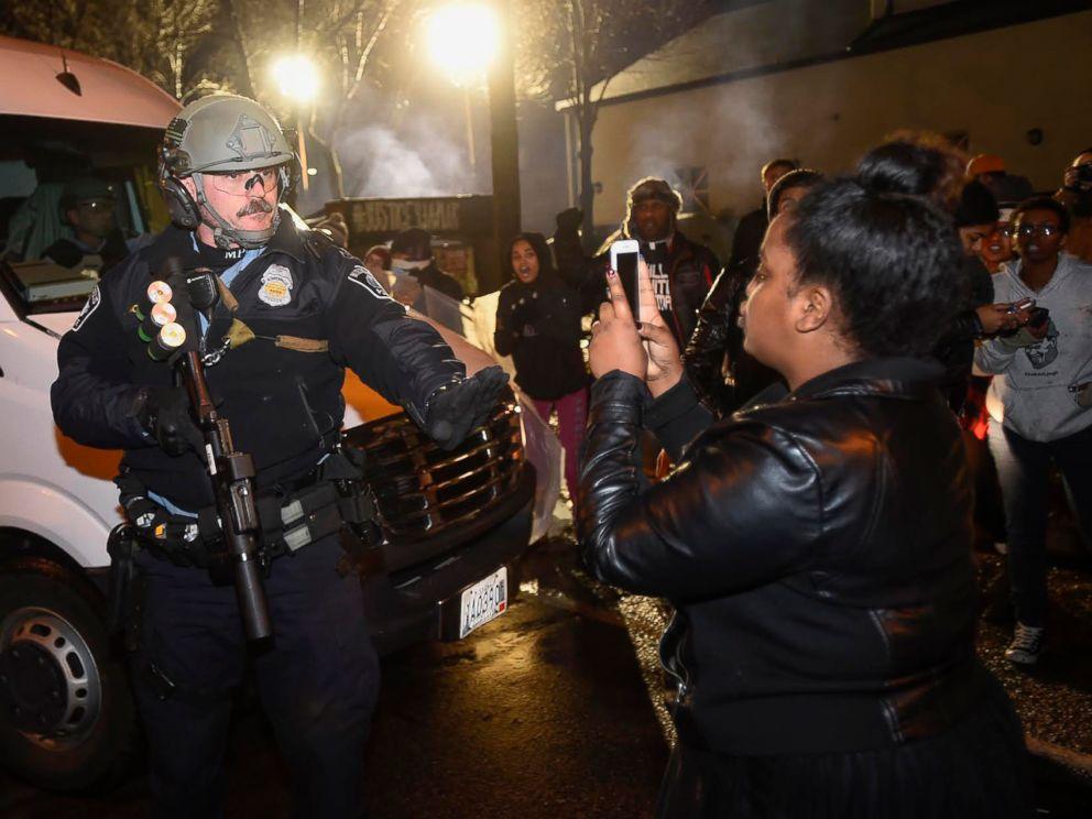 Image result for police blm demonstrators