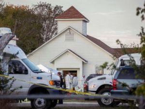 Photos: Texas church shooting