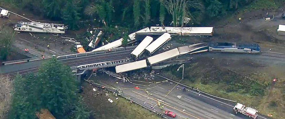 Image result for tacoma train derailment 2017
