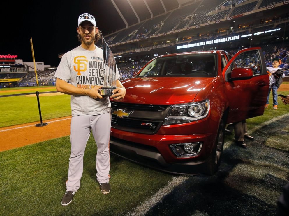 World Series Mvp Madison Bumgarner Doesn't Know Where That